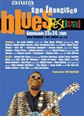 San Francisco Blues Festival poster 2007
