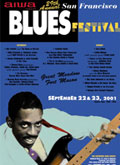 San Francisco Blues Festival poster 2001