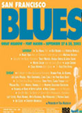 San Francisco Blues Festival poster 2003